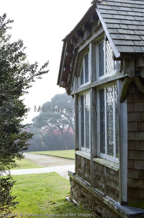 View from Edwardian summerhouse