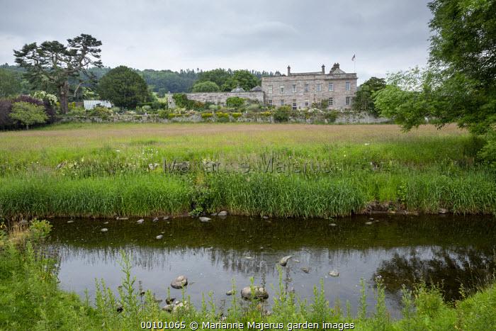 View across river towards Dalemain