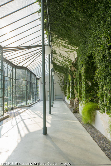 Interior of orangery at Villa del Grumello