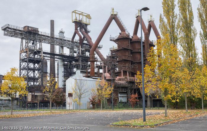 Disused steel works