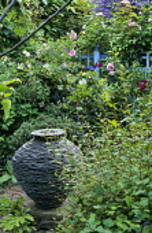 Slate urn by Jo Smith