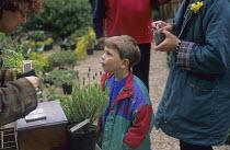 Plant sale at Avon Cottage, Warwickshire