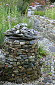 Dry-stone cairn