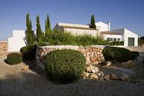 Mediterranean house and garden