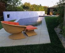 Swimming pool designed by Mia Lehrer