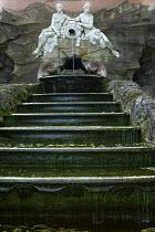 Stepped cascade at Temple of Apollo