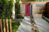 Eco driveway, permeable surface, green wall