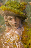 Chilstone figure with lichen and moss