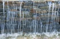Stone waterfall