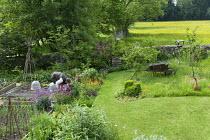 Kitchen garden, meadow