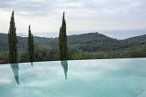 Infinity pool, view to sea