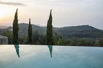 Infinity pool, view to Cape Drastis