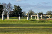 Group of classical statues at Wrest Park