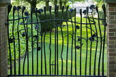 Wrought iron gate by Richard Bent