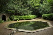 Octagonal pool, rill