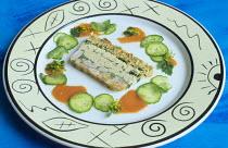 Fish and seafood terrine