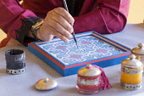 Hicham Ad painting Islamic pattern