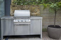 Outdoor kitchen, cooking range