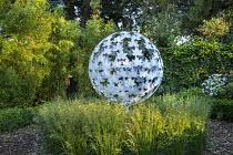 Leaf Sphere sculpture by Paul Richardson