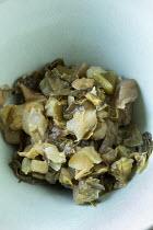 Sea kale, chicory and lemon