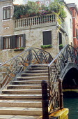 Bridge, view to roof terrace, Cannareggio, Venice
