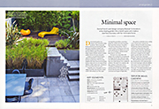 Minimal space Gardens Illustrated August 2014
