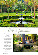 Homes & Gardens March 2012 Urban Paradise