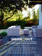 Inside and Out Homes & Gardens March 2011